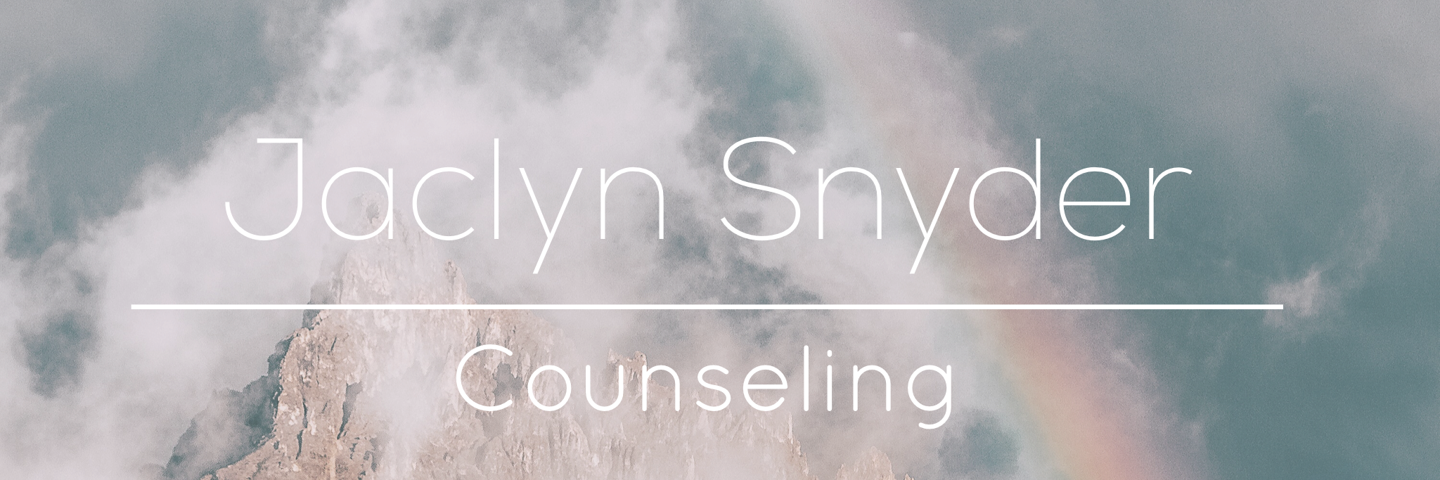 Jaclyn Snyder, Counseling for Couples, Families, and Individuals